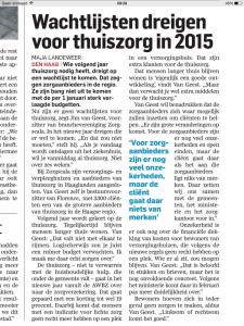 Bron: AD/Haagsche Courant van 31/12/2014