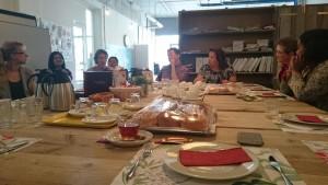 Op bezoek bij het Werkleerbedrijf in Den Haag Centrum.